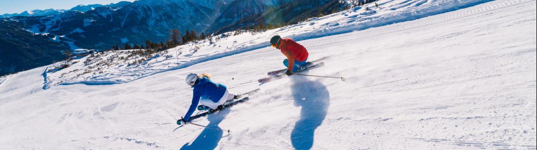 760 Pistenkilometer warten im Skiverbund Ski amadé.