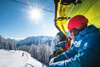 Insgesamt 270 Liftanlagen bringen die Wintersportler auf die Pisten.