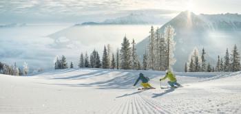 Mit Schladming-Dachstein sind auch Skigebiete aus der Steiermark im Skiverbund vertreten.