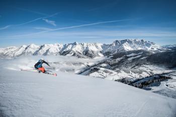 Auf der Königstour lässt sich das Skigebiet Hochkönig erkunden.