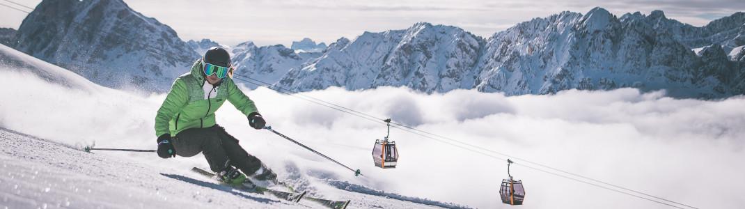Brixen verbindet Skivergnügen mit Stadtgenuss.