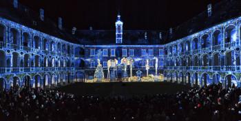 Die Licht- & Musikshow in der Hofburg ist ein ganz besonderes Erlebnis.