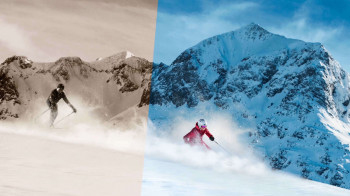 Vom ersten Schlepplift bis zum hochmodernen Riesen-Skigebiet: Bereits ab 1885 reisten erste Touristen an den Arlberg.