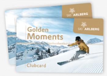 Die Golden Moments Clubcard sichert Tagesgästen zahlreiche Vorteile.