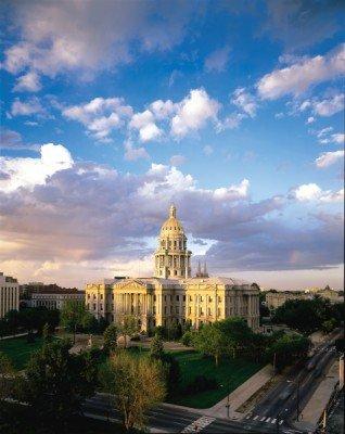 Das Colorado Capitol Building ist eines der beliebtesten Wahrzeichen von Denver.