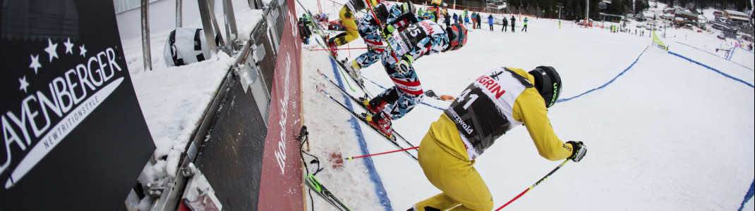 The race at Feldberg mountain in Germany is a fixed part of the Ski Cross calendar this year.