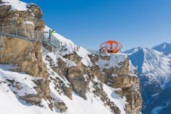 Der spektakuläre Felsenweg am Stubnerkogel ist ein Highlight für sich.