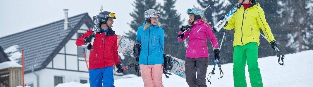 ski in ski out pistenspa vor der haust r skigebiete test magazin. Black Bedroom Furniture Sets. Home Design Ideas