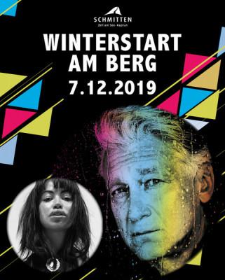 Beim Winterstart am Berg auf der Schmittenhöhe stehen Rainhard Fendrich und Aura Dione auf der Bühne.