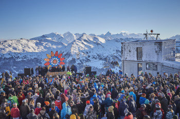Nach dem BERGFESTival geht es in Saalbach-Hinterglemm beim Rave on Snow heiß her.