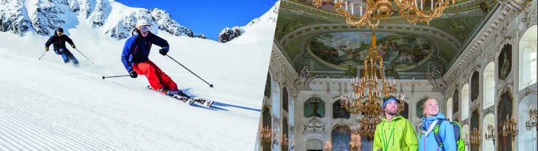 13 Skigebiete und 22 Erlebnisse mit einer Karte - das ist der SKI plus CITY Pass Stubai - Innsbruck!