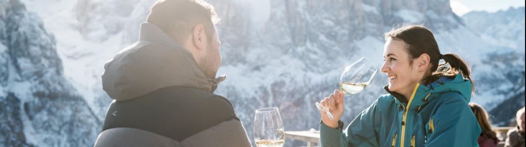 In Alta Badia trifft Skivergnügen auf erstklassige Kulinarik.