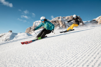 Alta Badia gehört zum Skikarussell Dolomiti Superski.