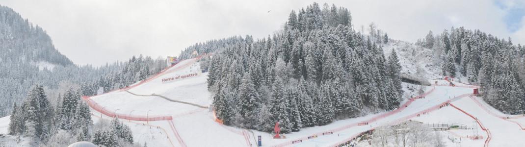 Zwei Abfahrten und ein Super-G finden heuer in Kitzbühel statt.