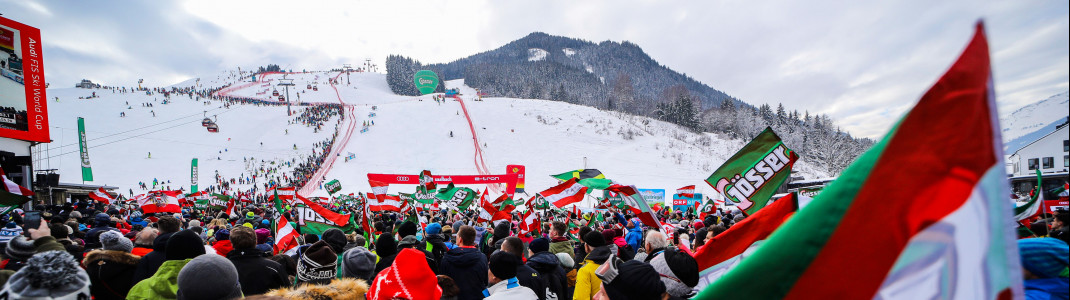 In Saalbach-Hinterglemm werden am 13. und 14. Februar 2020 zwei Weltcuprennen ausgetragen.