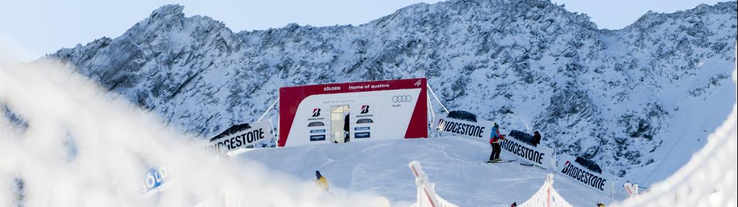 Das Starthaus in Sölden liegt auf 3040 Metern.