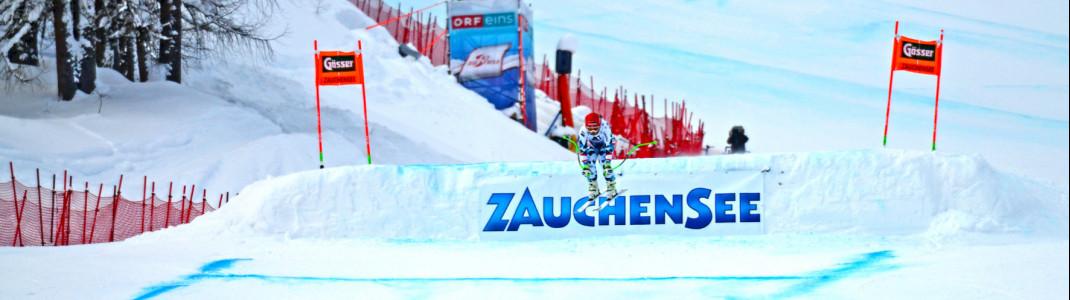 Bereits seit 40 Jahren wird in Zauchensee um Weltcuppunkte gekämpft.