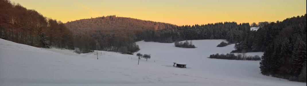 Auch in Dottingen auf der Schwäbischen Alb kann man den Skispaß für eine Stunde buchen.