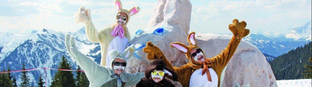 In Flachauwinkl-Kleinarl sind die Hasen los