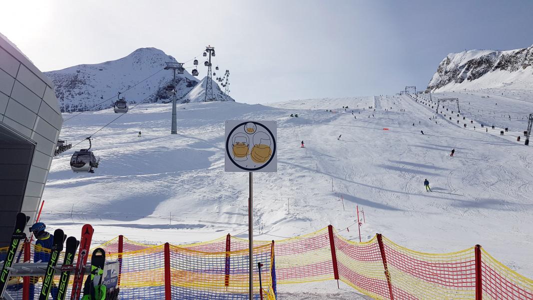 Corona Skifahren