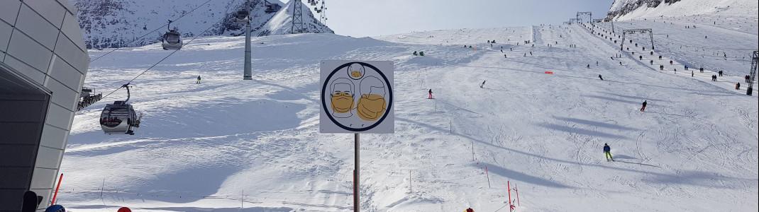 Seit 24. Dezember sind die Pisten am Kitzsteinhorn in Österreich wieder geöffnet.