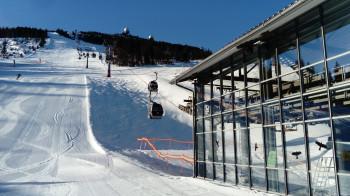 Auf eine gute Wintersaison hofft man auch am Arber, dem größten Skigebiet im Bayerischen Wald.