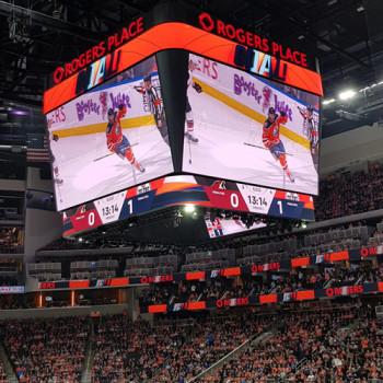 """NHL-Schauplatz: der """"Rogers Place"""" in Edmonton"""
