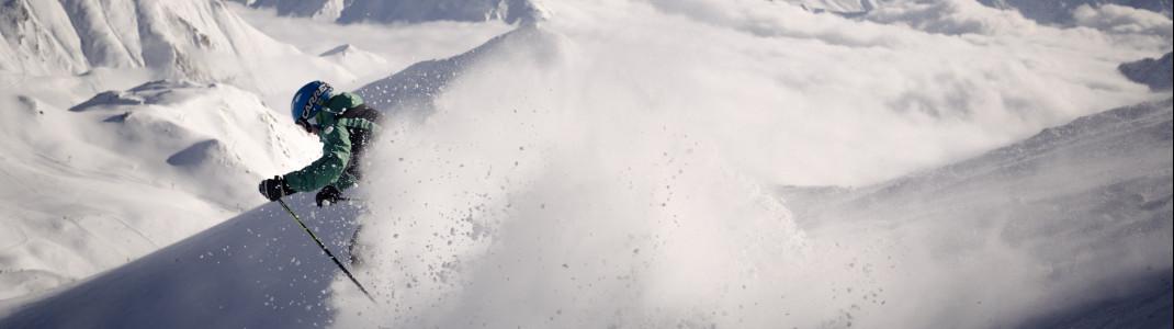 Skifahren in Tirol - mehr Abwechslung geht nicht