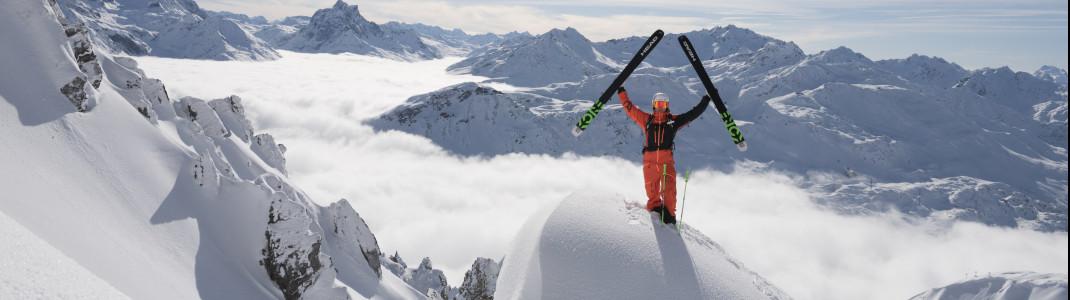 """Nirgendwo in Tirol ist das Skivergnügen """"größer"""" als in Ski Arlberg"""