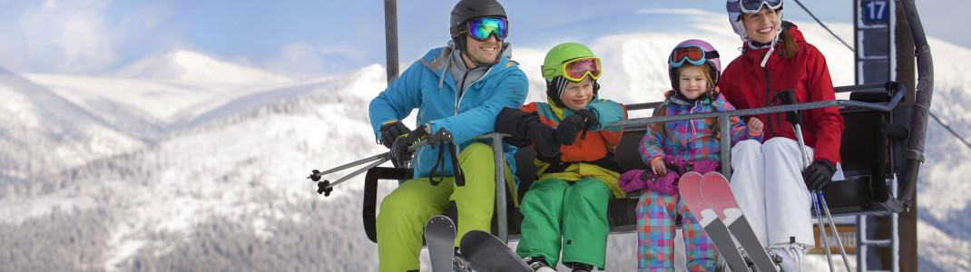 In den tschechischen Skigebieten ist Winterspaß für die ganze Familie garantiert.