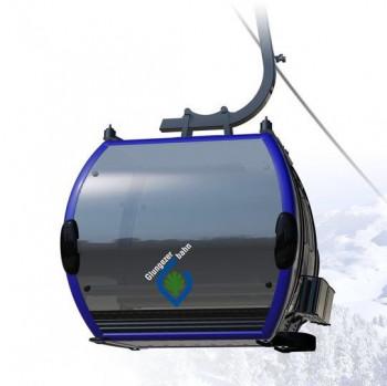 Komfortable 10er-Kabinen bringen Wintersportler zukünftig von Tulfes zur Mittelstation Halsmarter.