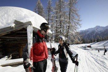 Das Ultental gilt bei guten Skifahrern als Geheimtipp.
