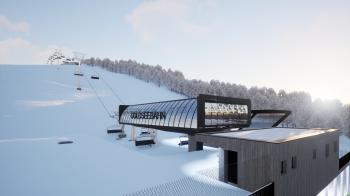 Die neue Sesselbahn in Nauders am Reschenpass ist mit zahlreichen Extras ausgestattet.