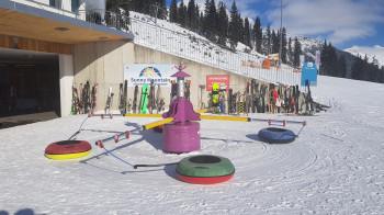 Jede Menge Spaß haben Kids auf dem 25.000 m² großen Kindergelände.