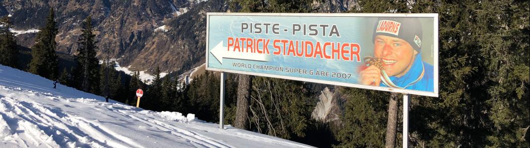 Unterwegs auf den weltmeisterlichen Spuren von Patrick Staudacher.