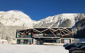 Das neue B-Active Center am Egghof Parkplatz.