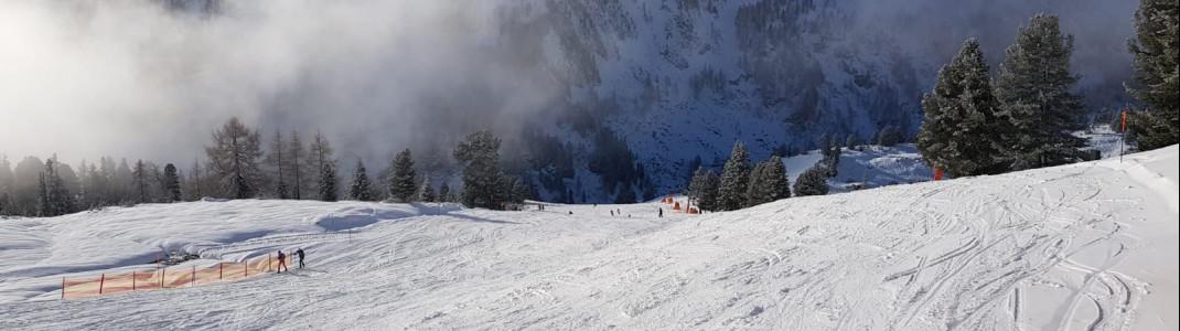 Obertauern bietet insgesamt 100 Pistenkilometer.