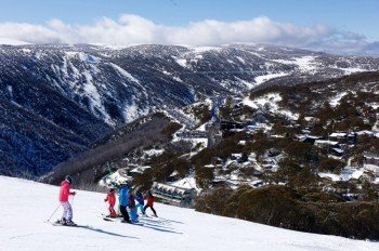 Falls Creek is the largest ski resort in the state of Victoria!