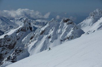 Mt Ruapehu is the highest point on the North Island of New Zealand.