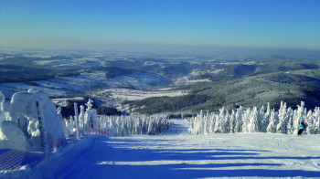 Rokytnice in the Giant Mountains is the country's fifth largest ski resort.
