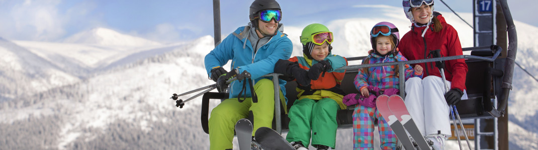 A holiday at one of the Czech ski resorts is a blast for the entire family.