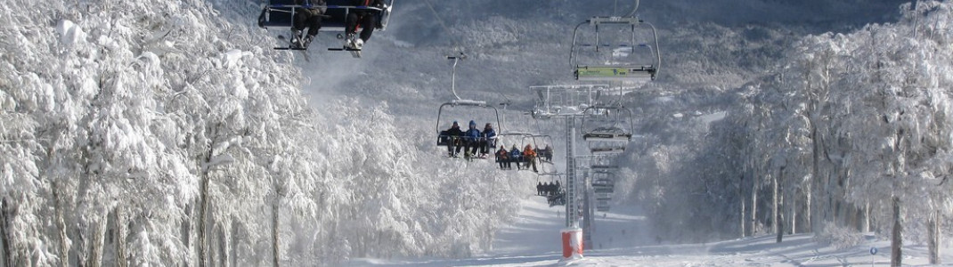 Chapelco - 45 km of slopes for beginners and advanced skiers in the Argentine Andes.