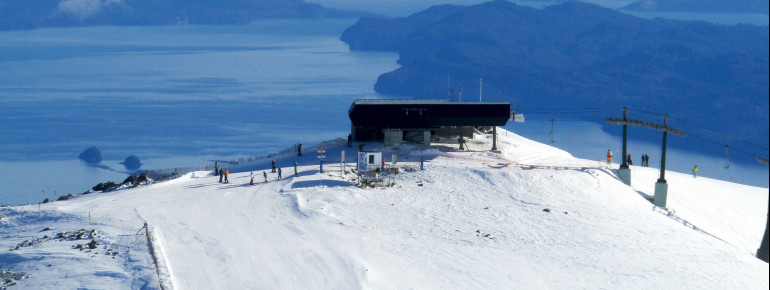 Catedral Alta Patagonia, located amidst a nature park, is the biggest ski resort in South America.