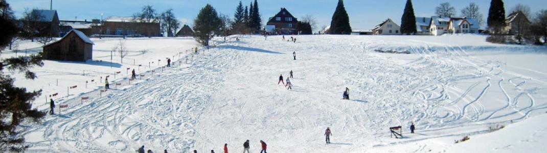 Sanfte breite Hänge - ein Traum für alle Ski-Anfänger