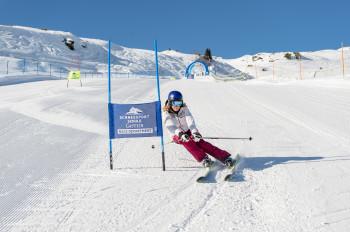 Auf der permanenten Skimovie-Anlage an der Haitzingalm kann sich jeder fühlen wie ein Skirennfahrer!