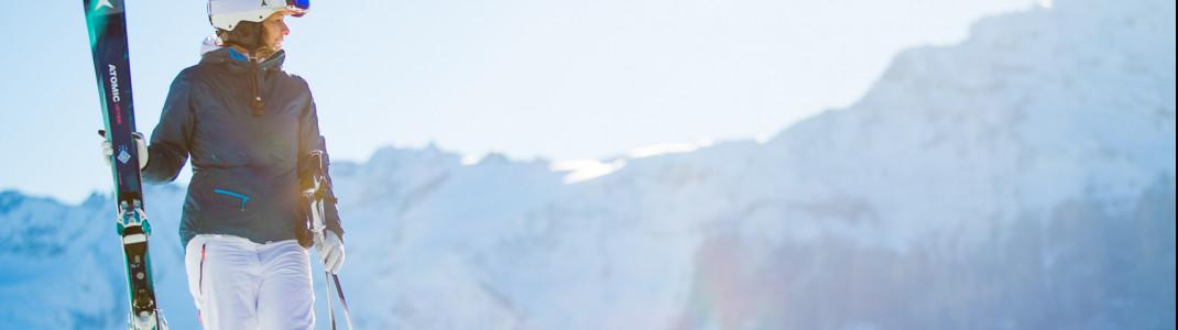 Spitzensportler wie Marcel Hirscher und Mikaela Shiffrin fahren Atomic-Ski.