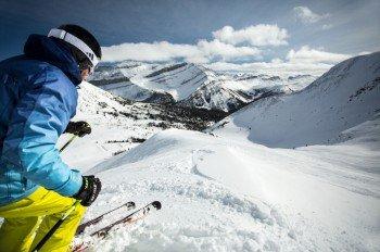 Lake Louise bietet rasante Pisten - auch für die Profis im Weltcup