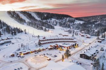 Sälen is the most famous ski resort in Sweden.
