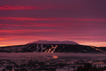 Trysil is the largest ski resort in Norway.