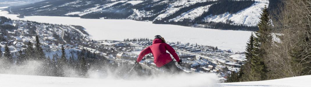 Åre ist das größte der sieben SkiStar-Resorts.